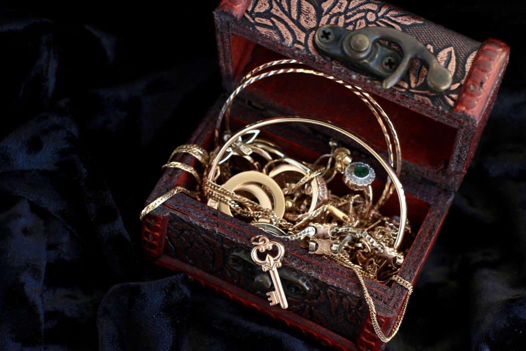 Boîte de rangement à bijoux