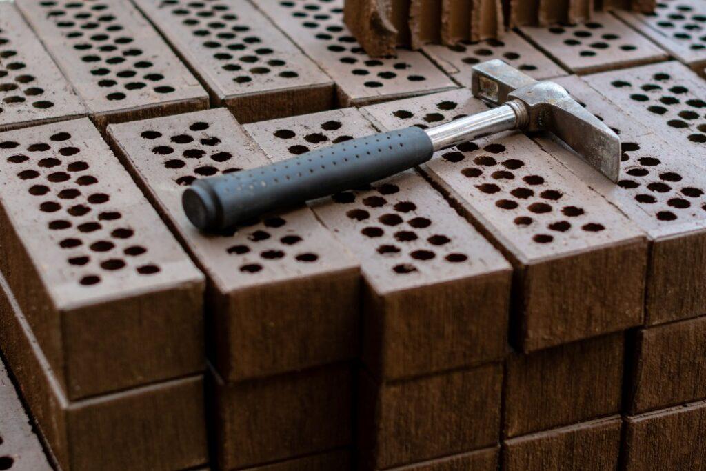 briques en béton