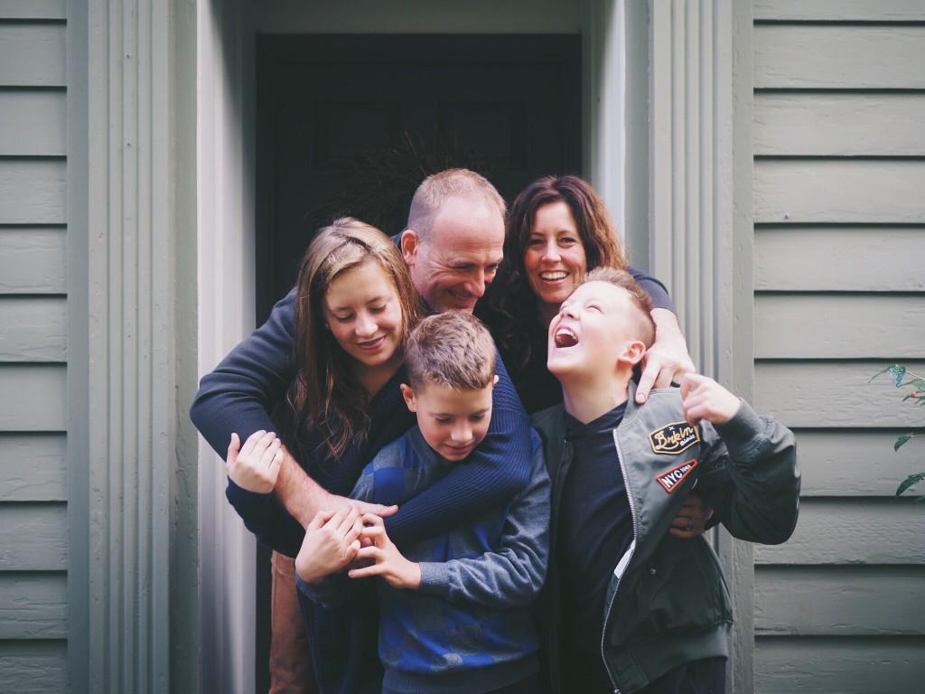 famille en bonne santé